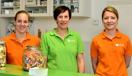 Das Team der Kleintierpraxis Hartberg - rund um Tierärztin Dr. Marion Wolters